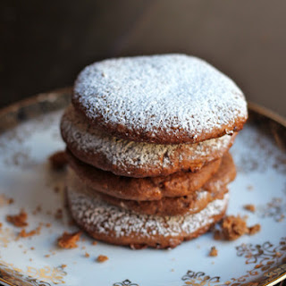 Lebkuchen (German Fruit and Spice Cookies).