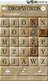 Dropwords- screenshot thumbnail