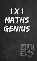 Screenshot of 1x1 Maths Genius