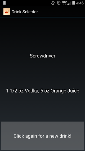 Drink Selector