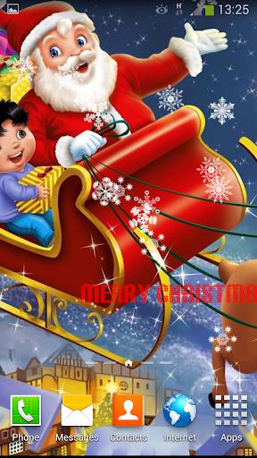 聖誕老人動畫壁紙