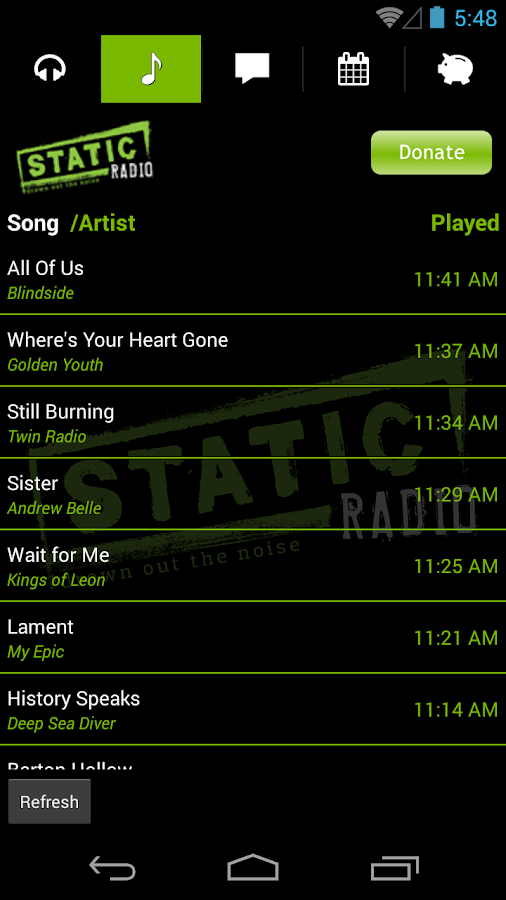 Static Radio - screenshot