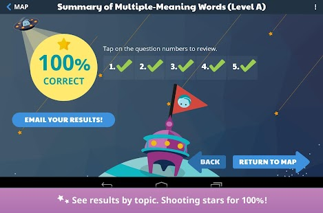 Stellar Vocabulary Grade 5- screenshot thumbnail