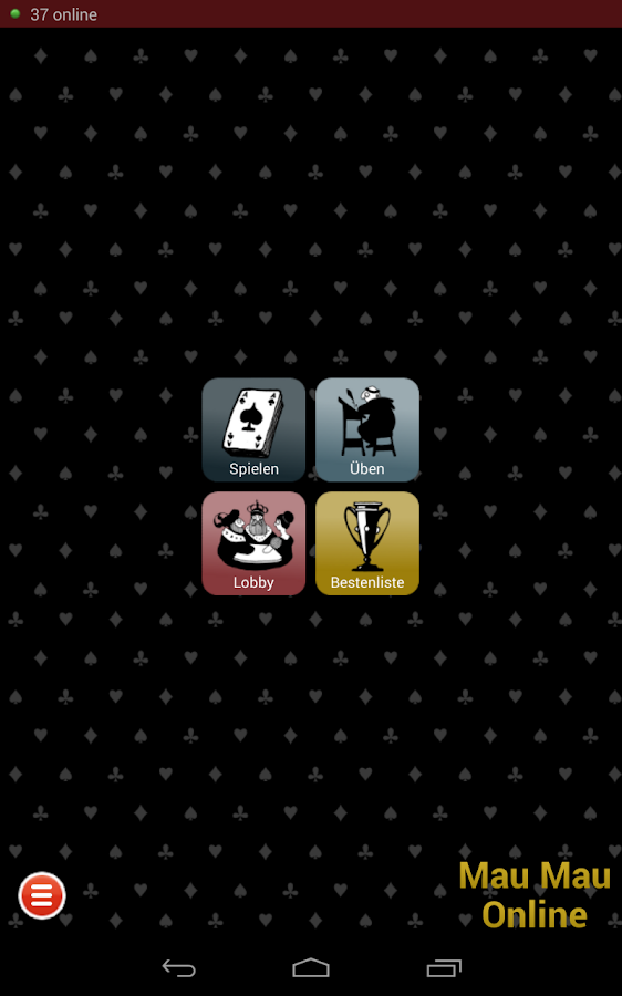 Mau Mau Online- screenshot