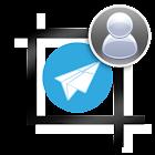 Perfil sin corte para Telegram icon