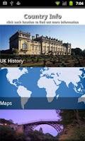 Screenshot of England Travel Guide