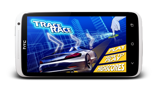 Trace Race : Drag And Draw