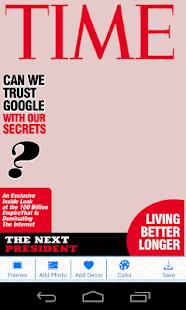 Funny Magazine Camera- screenshot thumbnail