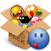 Emoticons pack, Cool Blue