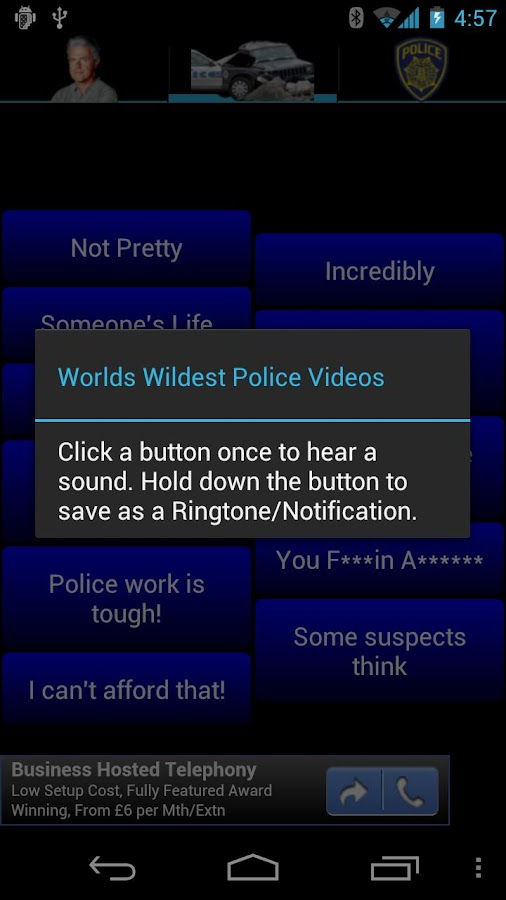 Worlds Wildest Police Vids SB- screenshot