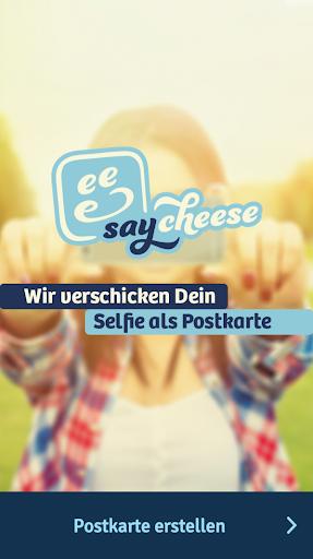 saycheese Postkarten App