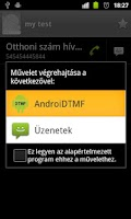 Screenshot of DTMF Dialer for Android