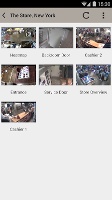 AXIS Viewer for Hosted Video - screenshot