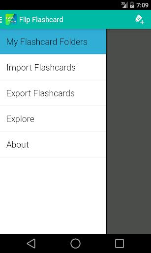 Flip Flashcard