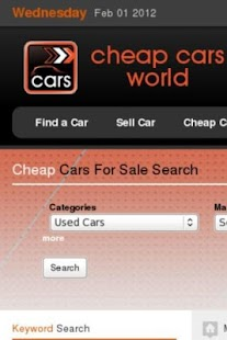 cheap cars world - screenshot thumbnail