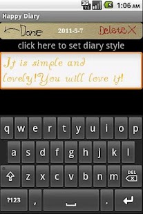 Happy Diary PLUS - screenshot thumbnail
