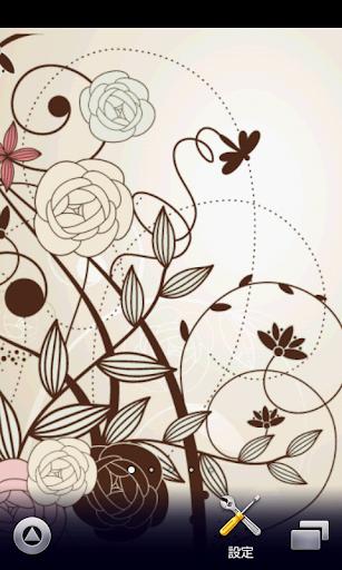 floral wallpaper ver191