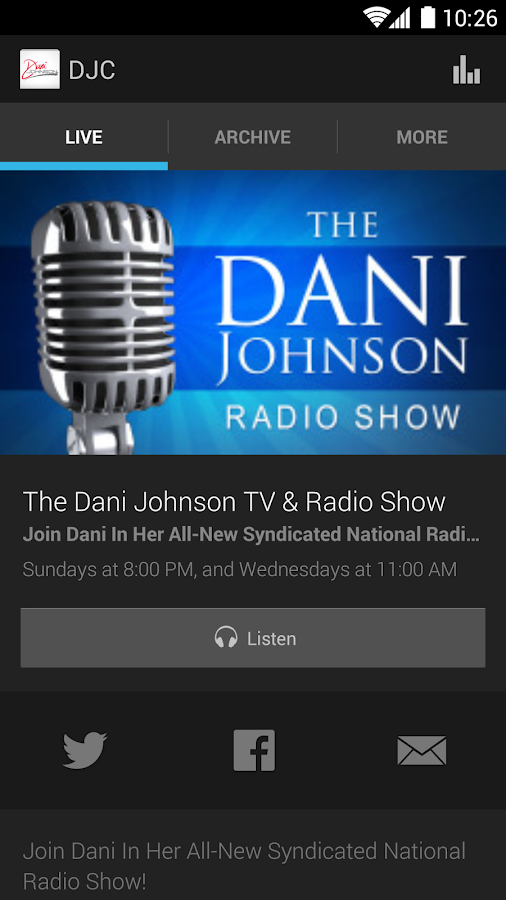 DaniJohnson.com- screenshot