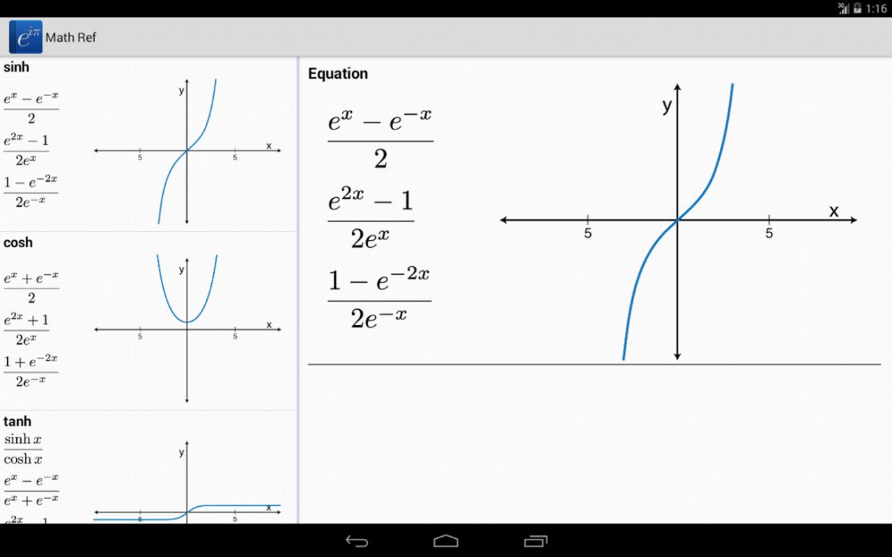Math Ref screenshot #1