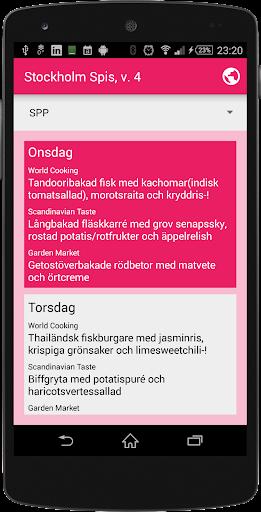 Stockholm Spis