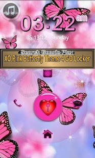 Pink Butterfly icon pack- screenshot thumbnail