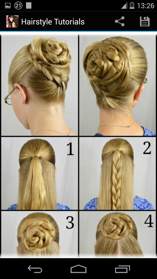 Hairstyles For Long Hair S In Hindi : Hairstyles step by android apps on google play