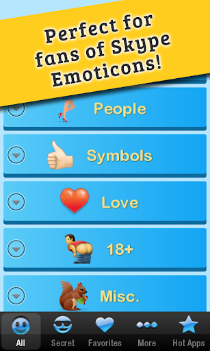 【免費通訊App】Secret Emoticons for Skype Pro-APP點子