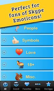 玩免費通訊APP|下載Secret Emoticons for Skype Pro app不用錢|硬是要APP