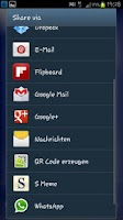 Screenshot of Geburtstags App