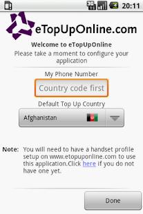 eTopUpOnline- screenshot thumbnail