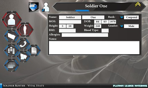 Platoon Leader Notebook- screenshot thumbnail