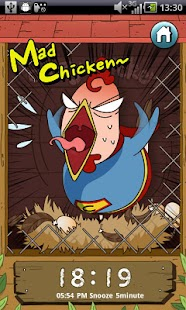 Crazy Chicken Alarm - screenshot thumbnail
