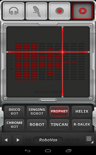 RoboVox Voice Changer 1.8.4 screenshots 4