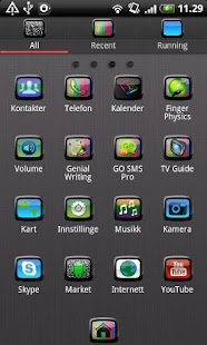 TV GO Launcher EX Theme - screenshot thumbnail