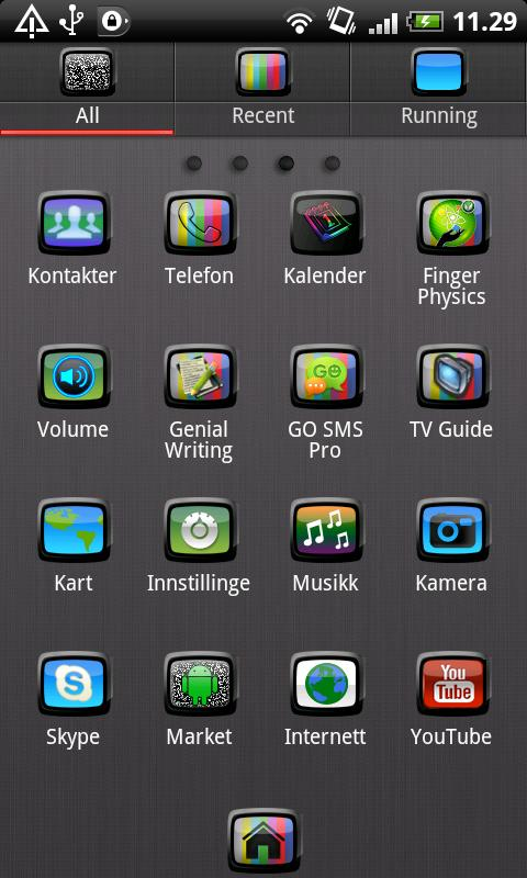 TV GO Launcher EX Theme - screenshot