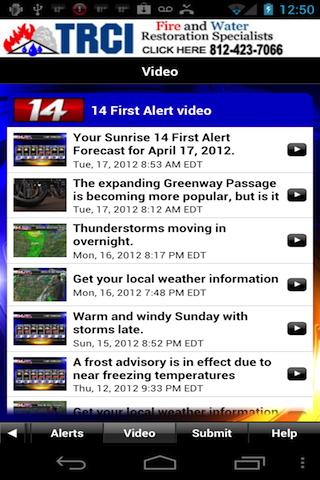 14FirstAlert Weather TriState - screenshot