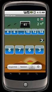 Math Series- screenshot thumbnail