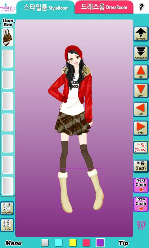 패션게임 쁘띠 드레스룸 S1 - screenshot