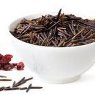 Wild Rice with Cranberries and Cider