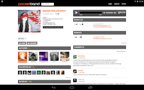 PocketBand - Social DAW- screenshot thumbnail
