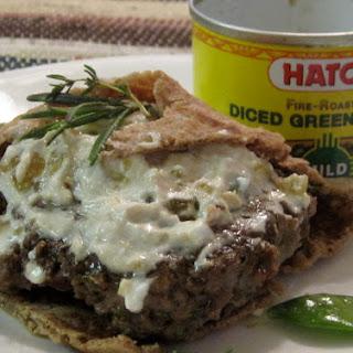 Hot-as-you-want-them Lamb Burgers With Basil-lemon Goat Cheese.