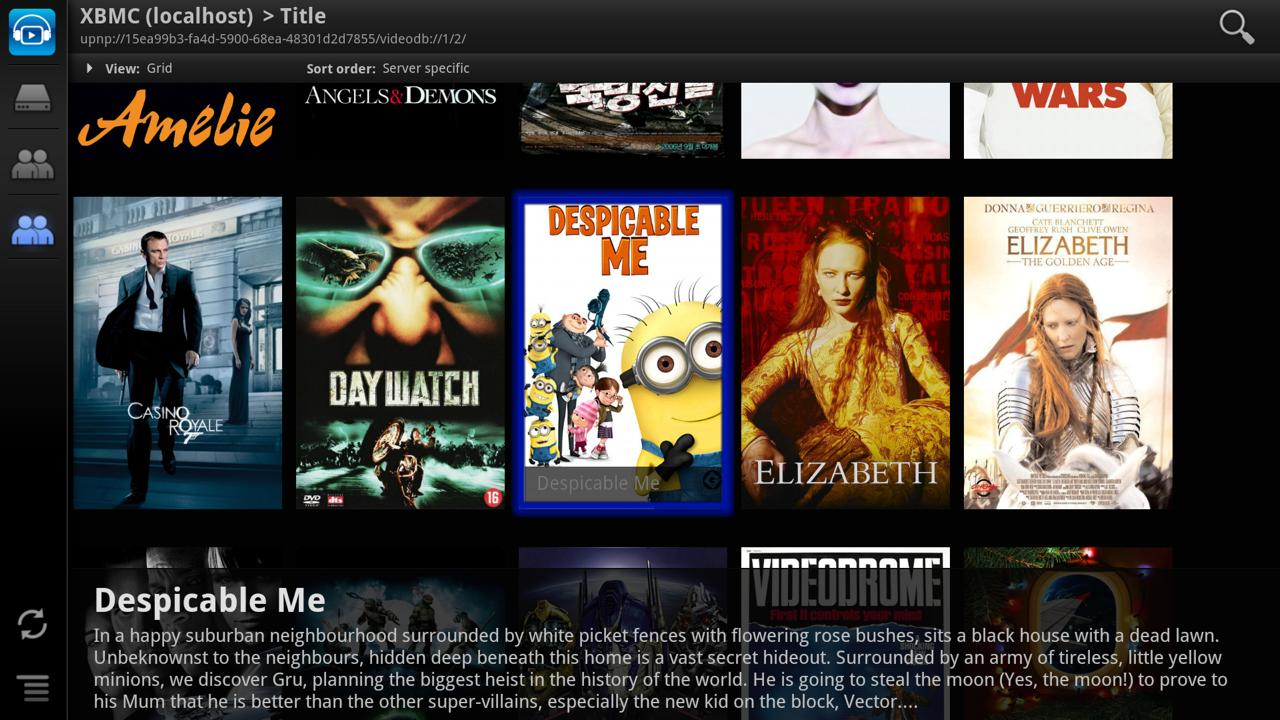ViMu Player for TV- screenshot
