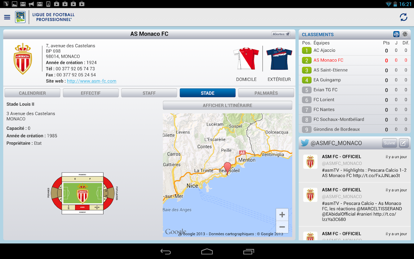 LFP (Officiel) - screenshot