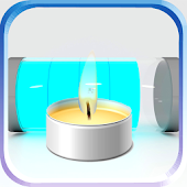 Battery with a Smart Candle