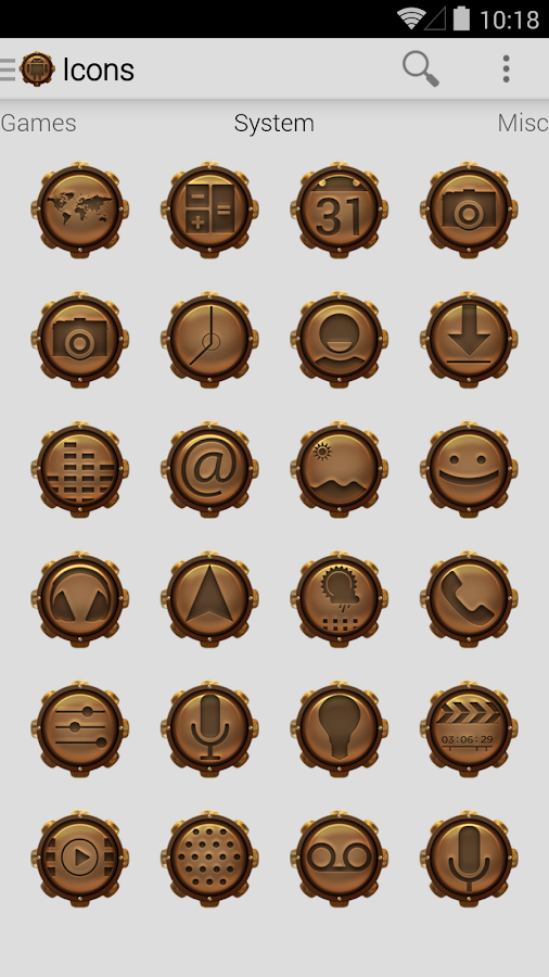 Icon Pack - Steampunk - screenshot