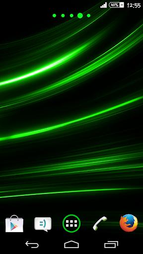 Green Rays Theme By Arjun