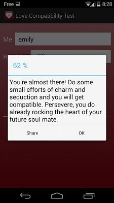 Love Compatibility Test - screenshot