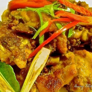 Butter Lemongrass Chicken Thai-Style