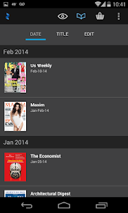Zinio: 5000+ Digital Magazines- screenshot thumbnail
