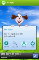 Screenshot of My Pets Free